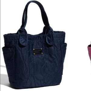 Marc Jacobs Pretty Nylon Lil Tate Tote in NAVY